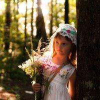 Цветы на закате :: Aleksandra Rastene