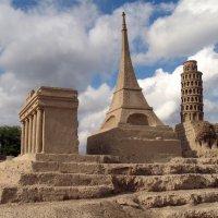 Фестиваль песчаных скульптур  «Морские приключения и достопримечательности Европы» :: Валерий Новиков