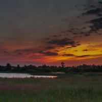 Солнце село :: Andrey Bubnov