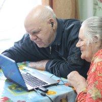бабушка и дедушка :: Мария Гофман