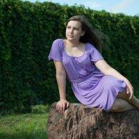 Сиреневый на зеленом :: Юлия Сивкова