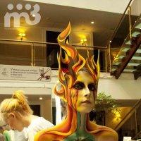 V Международный конкурс в области боди арта и макияжа :: Влада Алискандарова