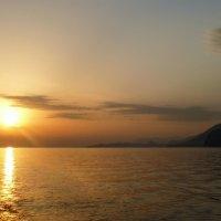 Закат в Адриатике :: Юрий Казарин
