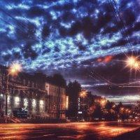 Облака на Удмуртской :: Хитрое Тело