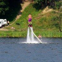 Флайборд — фантастический полет над водой! :: Валерий Новиков
