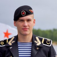 Морской пехотинец :: Алексей Golovchenko