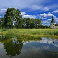 У стен Иверского монастыря. Остров Валдайского озера. :: Виталий Половинко