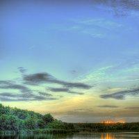 Темерник в свете заката :: Павел Бирюков