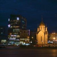 Вечерний Новосибирск :: Михаил Фролов
