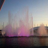 Олимпийский парк. Фонтан. :: Андрей Сотников