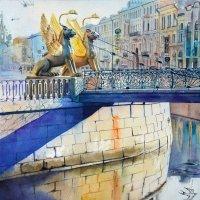 Банковский мост в Санкт-Петербурге :: Дарья Егорова