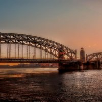Мост Петра Великого :: Михаил Александров