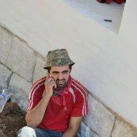 Перекур на телефонный звонок :: Минихан Сафин