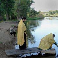 освящение воды в реке :: Юлия Мошкова