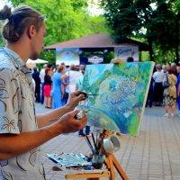 Уличный художник :: Ростислав