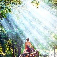 Волшебные лучи! :: Lena Ivanova