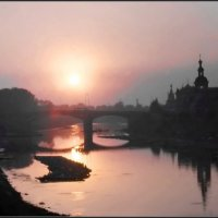 Вологда закатная :: Валерий Талашов