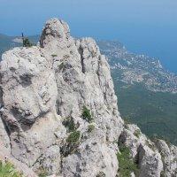 Вид с вершины горы Ай-Петри :: Олеся Кудина