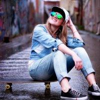 девушка со скейтом :: anel07 Елена