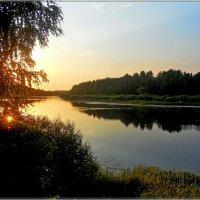 солнце из озера :: Сергей Швечков