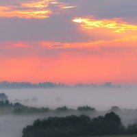 восход... туман... :: Александр С.
