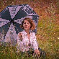 Я под зонтиком сижу.... :: игорь козельцев