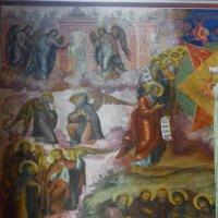 Роспись стен   Рождественского  собора. :: Galina Leskova