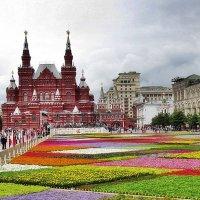 Вальс цветов на Красной площади :: Ирина Князева