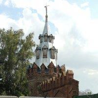 Башня и фрагмент стены Старообрядческой общины (4) :: Александр Качалин