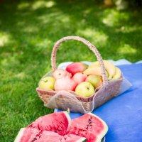 пикник в саду :: Lis Sma