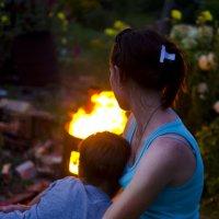 У ночного огня... :: Кристина Бессонова