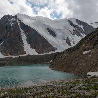 Голубое озеро у ледника Большой Актру :: Дмитрий Кучеров