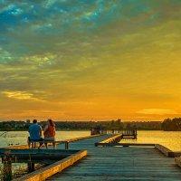 Любуясь закатом. :: Gene Brumer