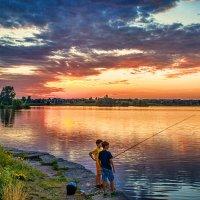 На рыбалке. :: Gene Brumer