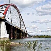 Новый мост над Обью :: Валентина *