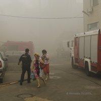 Спасаясь от пожара... :: Константин Сафронов