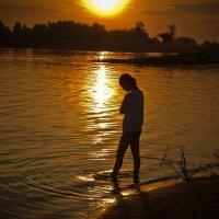Завершение летнего вечера :: Floren Гриневич Ирина