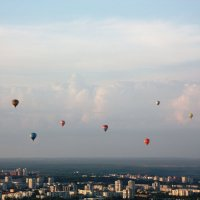 в небе над Вильнюсом :: Ksenia Malkova