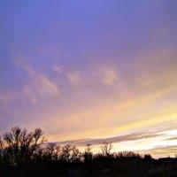 небо на закате :: Татьяна Королёва