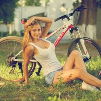 велосипед... :: Наталья