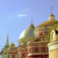 Купола Знаменского собора :: Геннадий Храмцов
