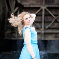 Ветер в волосах :: Анна Лебедева