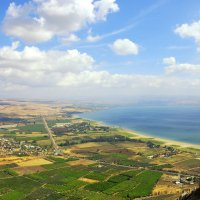 Берег Галилейского моря, Израиль :: Леонид Спектор