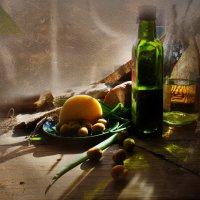 Солнце и оливки. :: Елена Прихожай