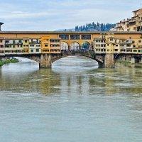 Золотой мост Понте Веккьо во Флоренции :: Лидия Цапко
