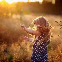 Оранжевое небо, оранжевое солнце, оранжевая мама, оранжевая я))) :: Анна Димант