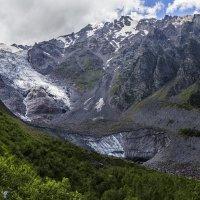 Ледник Цейского ущелья :: Николай Николенко