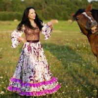 Конь по морде получил :: Larianna Holm