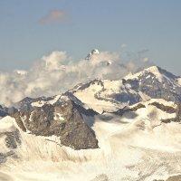 Вид с горы Эльбрус :: Анна Рахимова