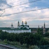Пейзажи из окна поезда :: Диана